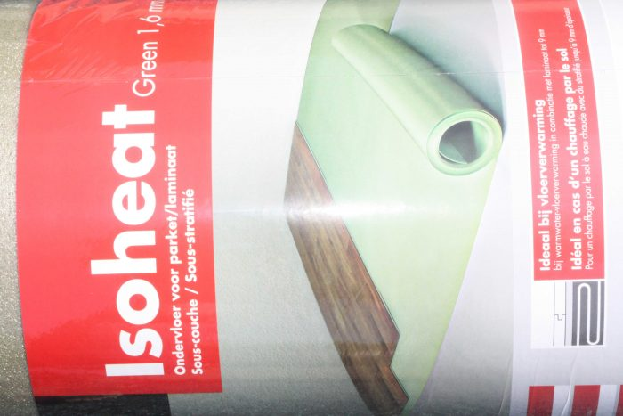 Laminaat ondervloer foam pe alumium rol mtr m² kopen